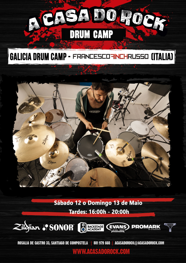 Galicia Drum Camp - Francesco Finch Russo