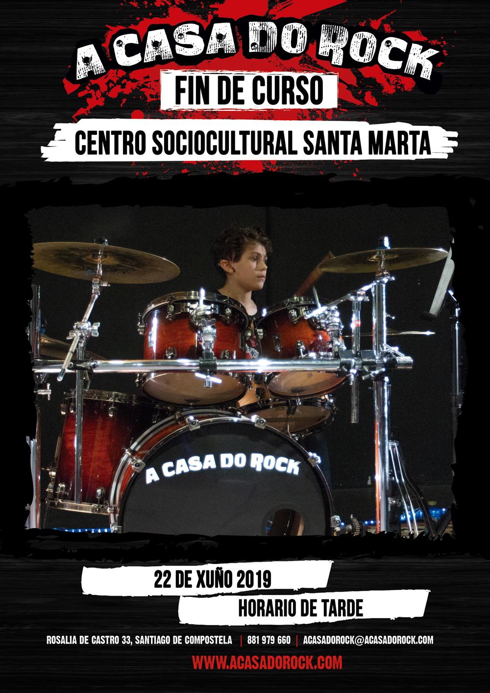 Festival Fin de Curso - A Casa do Rock