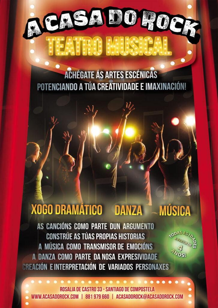 Teatro Musical - A Casa do Rock