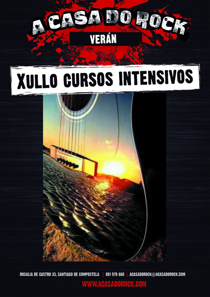 Xullo cursos intensivos - A Casa do Rock