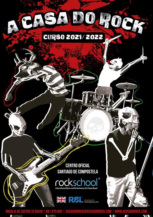 A Casa do Rock - Curso 2021 / 2022